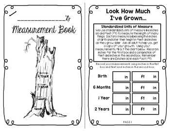 My Measurement Book