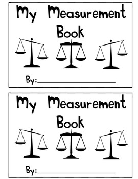 my measurement book a book about weight by lovelyleopard tpt. Black Bedroom Furniture Sets. Home Design Ideas