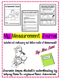 My Measurement Journal (Includes U.S. Customary and Metric Units of Measurement)
