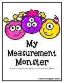 My Measurement Monster Craftivity
