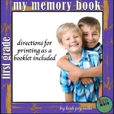 End of the Year Activities: First Grade Memory Book