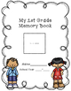 My Memory Book, End of Year Autograph Book, 1st GRADE