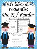 My Memory Book - Mi libro de recuerdos (Spanish)