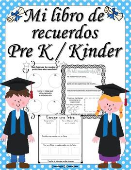 My Memory Book - Spanish- Libro de Recuerdos
