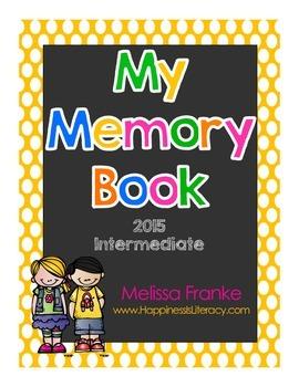 My Memory Book for 2015: Intermediate Grades