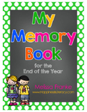 My Memory Book for the End of the Year