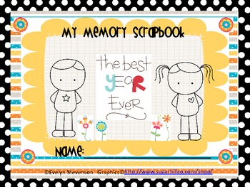 My Memory Scrapbook, The Best Year Ever: NOW EDITABLE AND