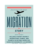 My Migration Story Poster Project