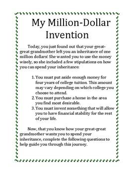 My Million-Dollar Invention