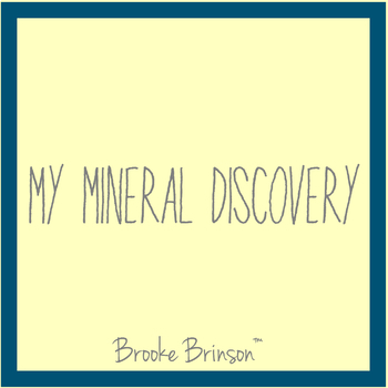 My Mineral Discovery