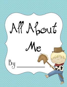 My Book About Me - Boys