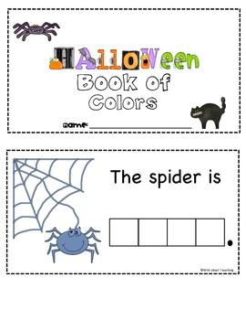 My Mini Book Of Halloween Colors