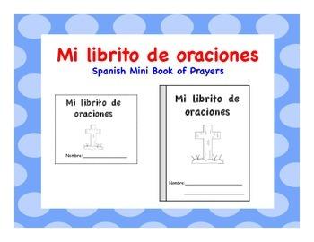 My Mini Book of Spanish Prayers-Mi librito de oraciones