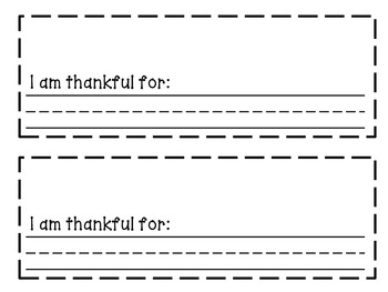 My Mini Book of Thankfulness