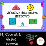 Shapes  Minibook (2 Minibooks) English/ Inglés