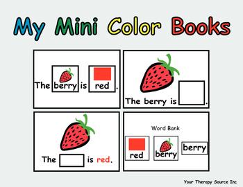 My Mini Color Books