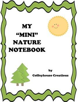My Mini Nature (Hike) Notebook