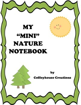 My Mini Nature (Hike) Notebook