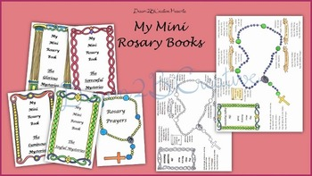 My Mini Rosary Books