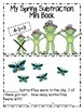 My Mini Spring Subtraction Book