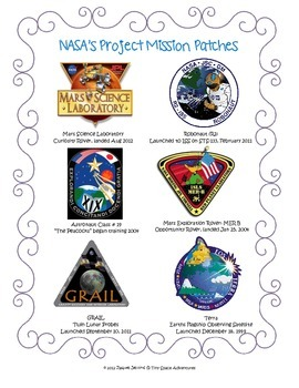 My Mission Patch Adventure (Common Core ELA)