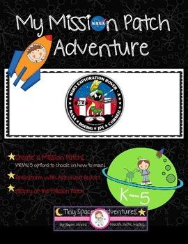 My Mission Patch Adventure (Common Core ELA)