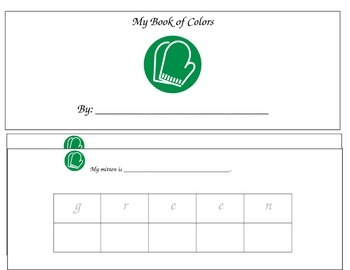 My Mitten Color Book