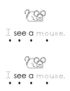 Harcourt Storytown K, lesson 1,My Mm Book- sight word I