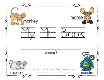 My Mm Book {letter study / reader}