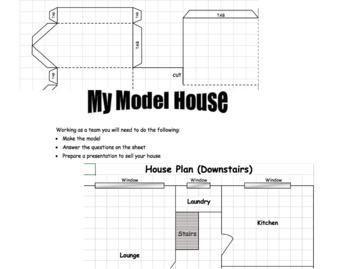 Mathematics Model House Activity
