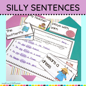 Sentence Building, Structure & Writing My Mom Eats Flies S
