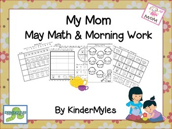 My Mom May Math & Morning Work