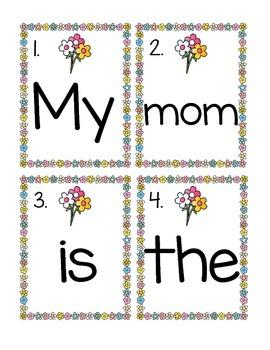 My Mom-Write the Room