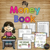 Money Book Activity, Money Worksheet, Money Posters & Songs