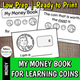 My Money Book: Teaching Coins to Kids