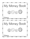 My Money Mini Book-Identifying Coins