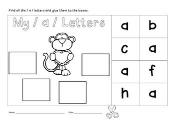 My Monkey Letters