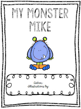 My Monster Book (Editable)