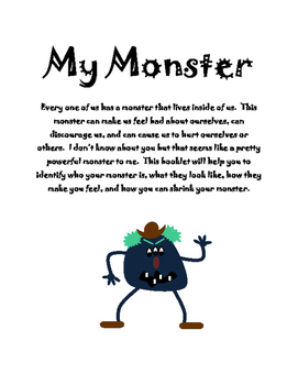 My Monster Booklet