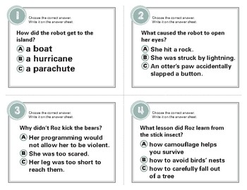 The Wild Robot Task Cards