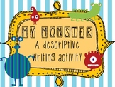 My Monster: Descriptive Writing Activity