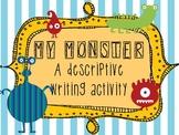 My Monster: Descriptive Writing Activity