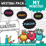 My Monster Descriptive Writing Packet