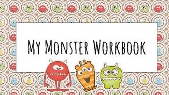 My Monster Workbook
