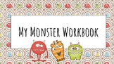 My Monster Workbook