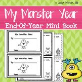 My Monster Year: End of Year Mini Book