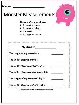 My Monster's Measurement
