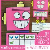 Math Craft Ten Frame Addition Mathtivity