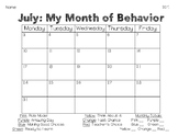 My Month of Behavior
