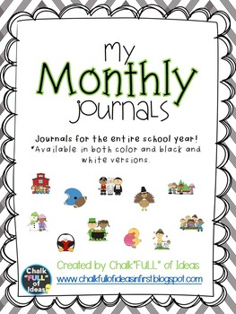 My Monthly Journals